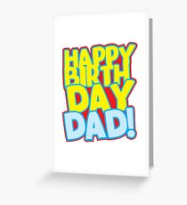 Happy 30 birthday greeting cards redbubble happy birthday dad greeting card m4hsunfo