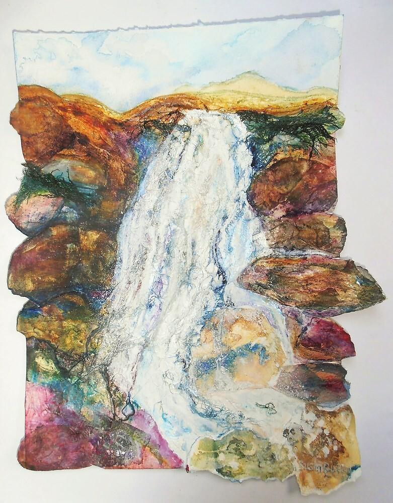 Waterfall in the Glen by Susan Scott