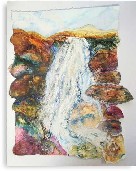 Waterfall in the Glen by Susan Duffey