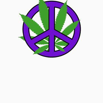 Cannabis - Peace by GrassPass