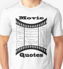 Movie Quotes (Tee shirt) Unisex T-Shirt