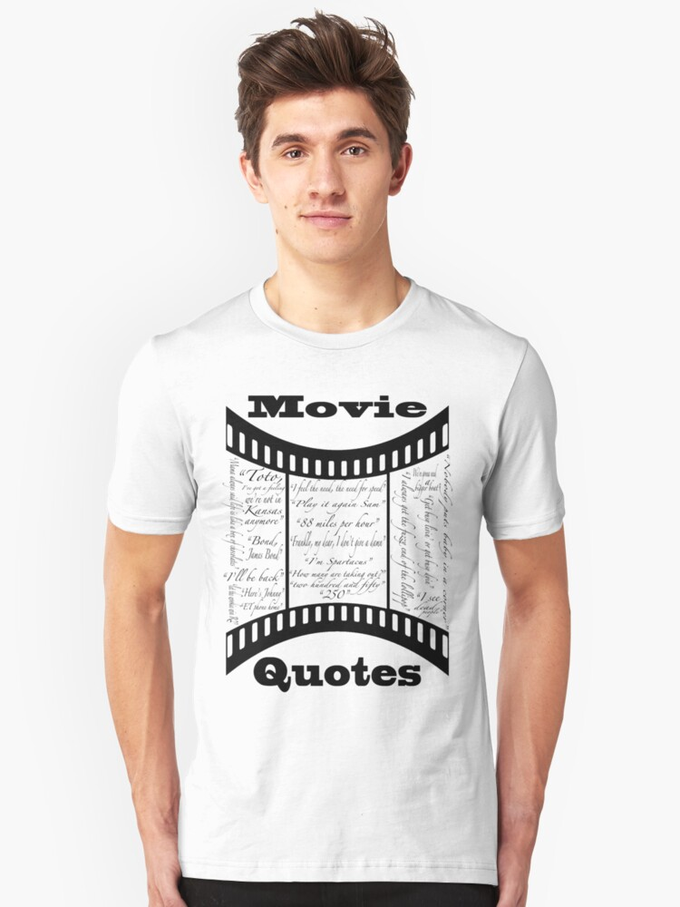 Movie Quotes (Tee shirt) by Stephen Knowles
