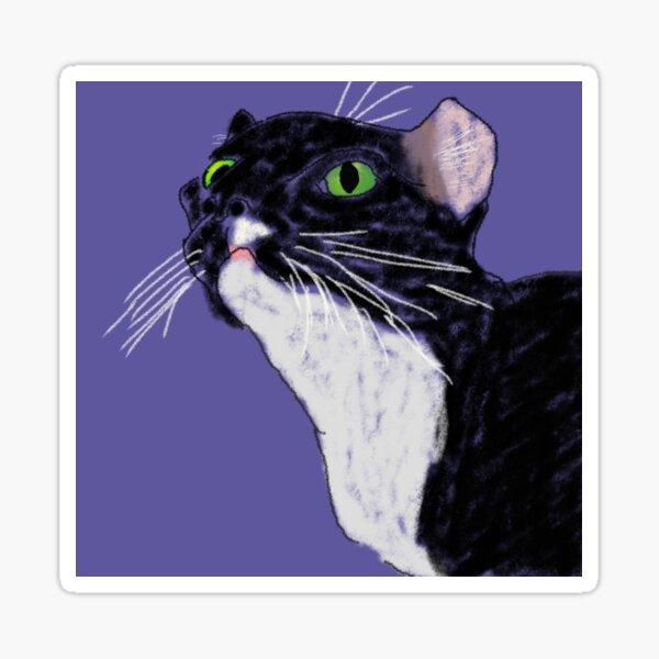 Cat'n Jack, me-wow Sticker