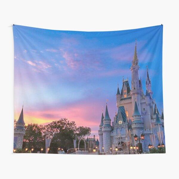 Castle Sunset Tapestry