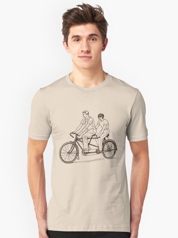 Tandem Unisex T-Shirt Front