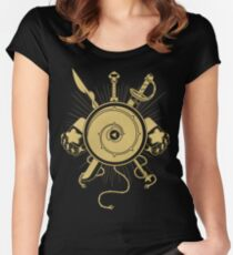 Gems Weapons Women's Fitted Scoop T-Shirt