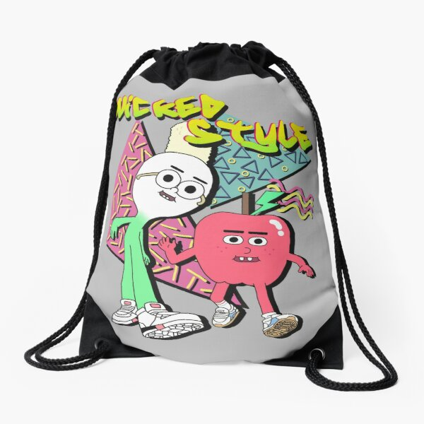 Wicked Style Drawstring Bag