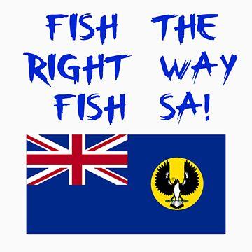 FISH THE RIGHT WAY, FISH SA! by fishingsa