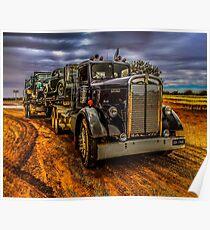 Truck Kenworth 1946 Poster