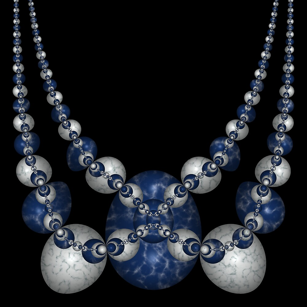 Schottky's Necklace by Ross Hilbert
