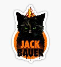 The Indestructible Jack Bauer Sticker