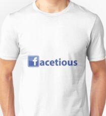 Facetious Unisex T-Shirt