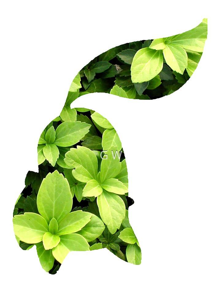 Chikorita used Razor Leaf by G W