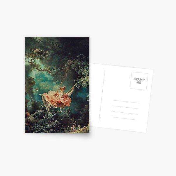 The Swing by Jean-Honoré Fragonard Postcard