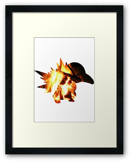 Cyndaquil used Ember by G W