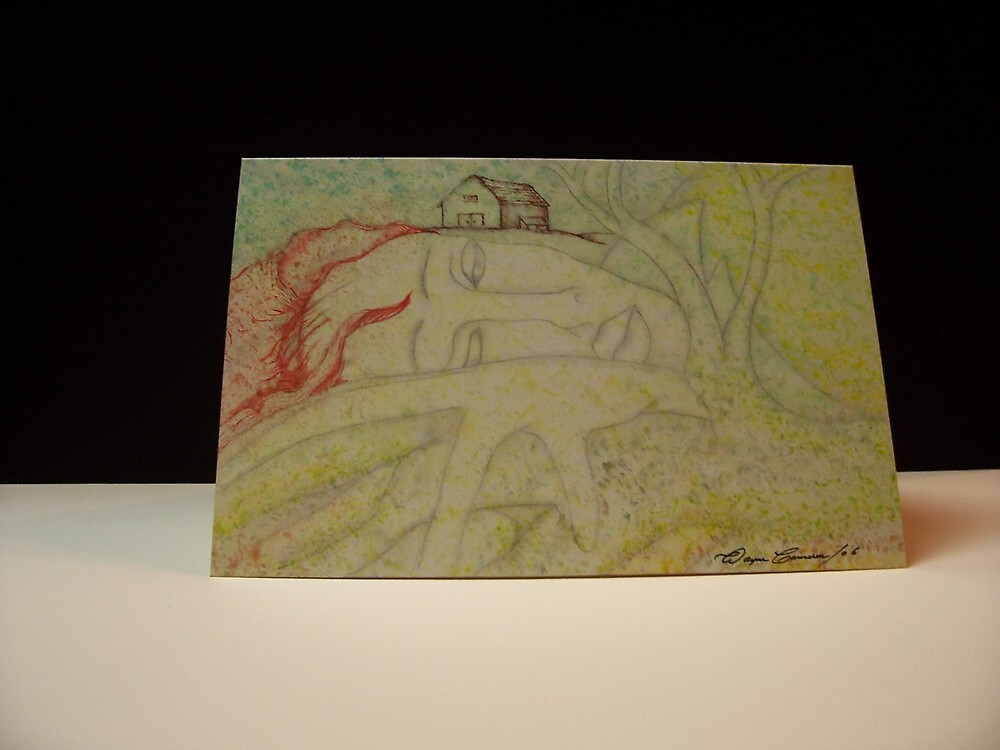 greeting card / hand made by innisfil