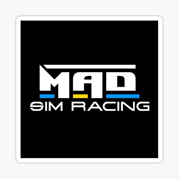 Mad Sim Racing Logo Sticker