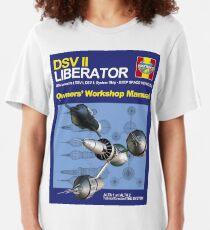 Blake's 7 Liberator  Slim Fit T-Shirt