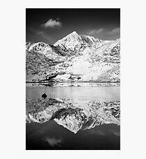 Snowdon, Winter. Photographic Print