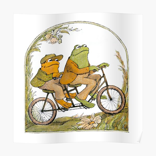 frog and toad  Poster