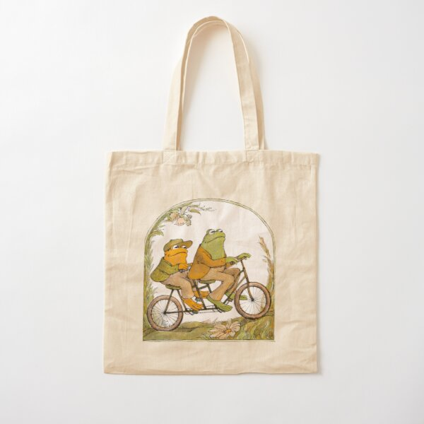 frog and toad  Cotton Tote Bag