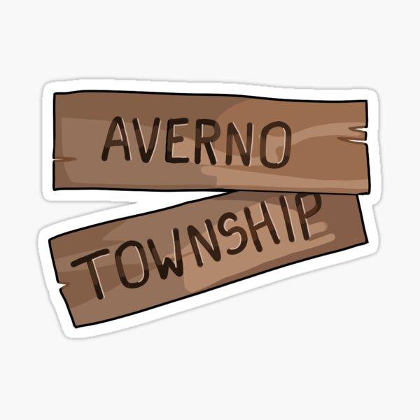 Averno Township Sign Sticker