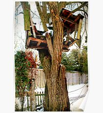 Broken Tree House Poster