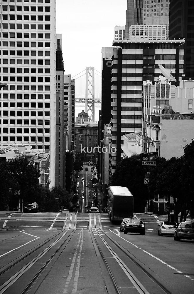 The street of San Francisco by kurtolo