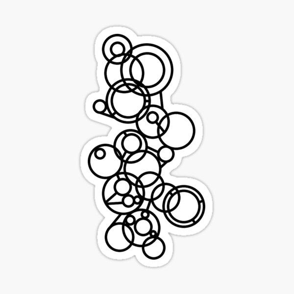Chaotic Circles Sticker