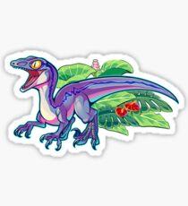 jurassic world blue raptor stickers redbubble