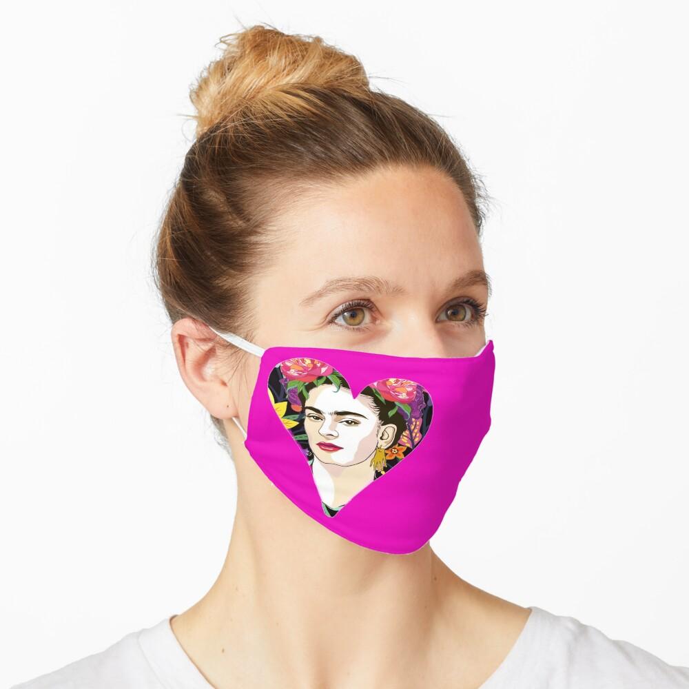 LOVE- Frida Kahlo Version Mask