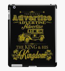 Advertise! Advertise! Advertise!  iPad Case/Skin