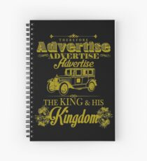 Advertise! Advertise! Advertise!  Spiral Notebook