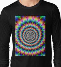 trippy stoner Long Sleeve T-Shirt