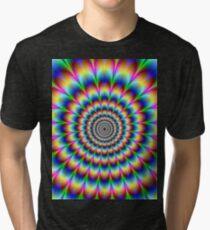 trippy stoner Tri-blend T-Shirt
