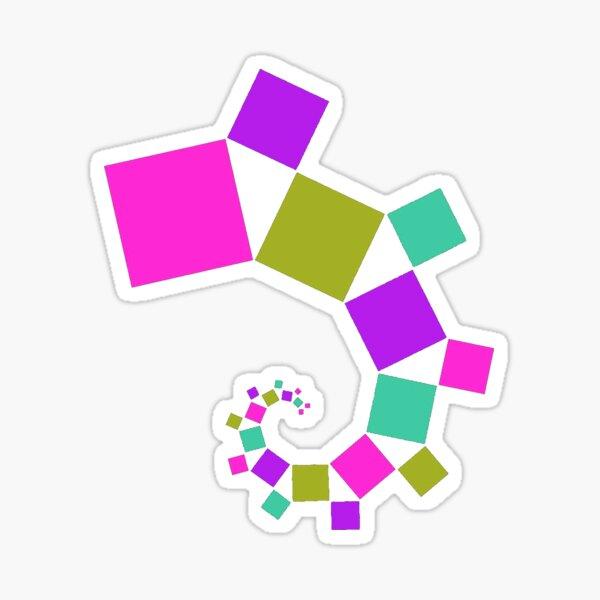 Spiral Sticker