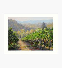 Harvest Morning Art Print