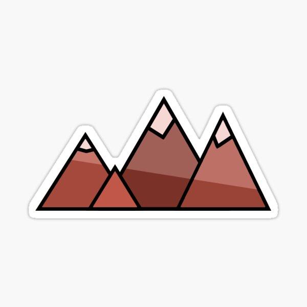Mountains Sticker