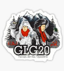 GLG20 Foreign Service Operative! Sticker