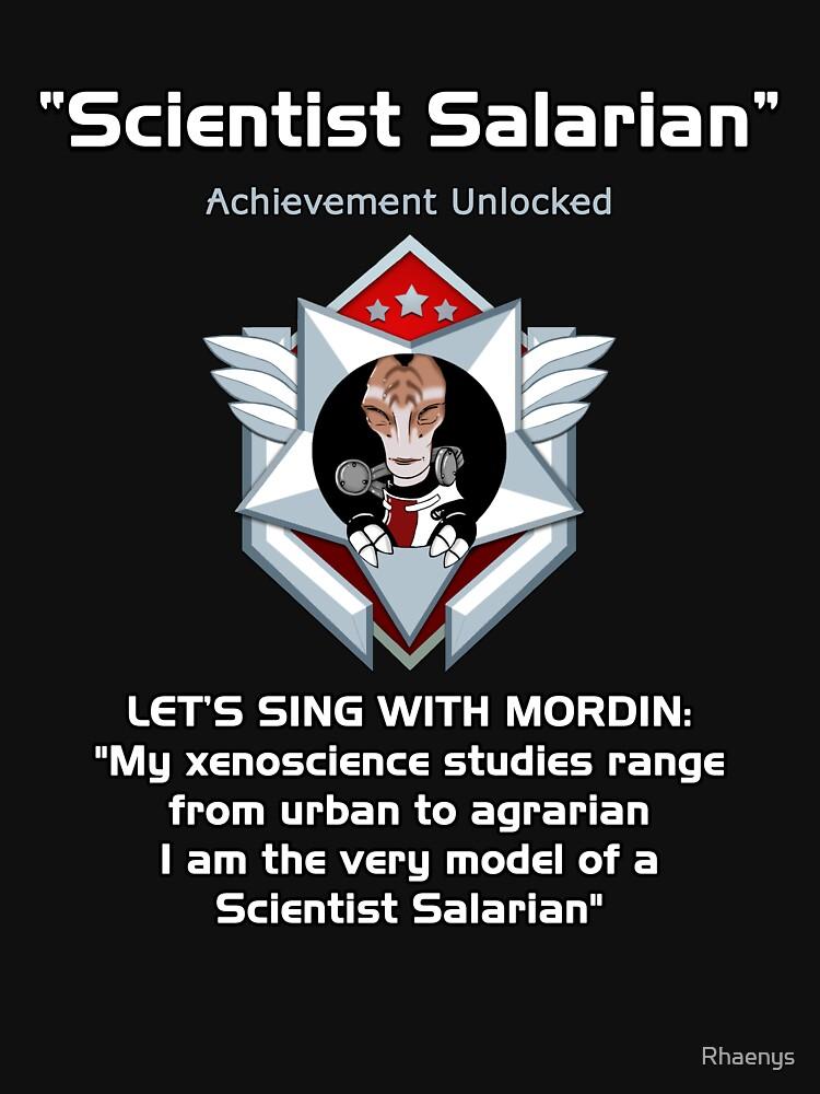 ME2 - Scientist Salarian | Unisex T-Shirt