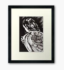 Dragon Lady Framed Print