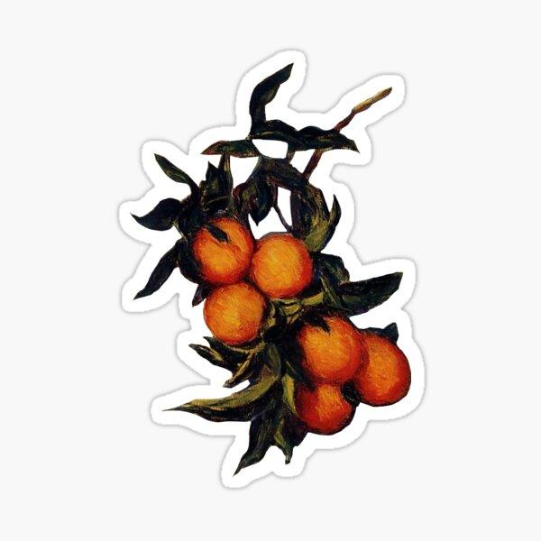 "Monet's ""Branch of Orange Bearing Fruit"" Sticker"