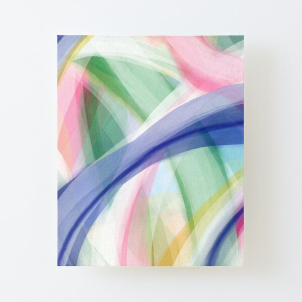 Tranquility Part 2 Canvas Mounted Print