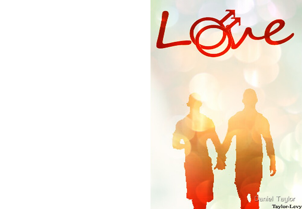Gay love greeting card by Daniel  Taylor