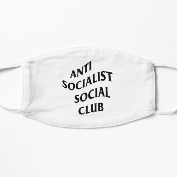 Anti Socialist Social Club Flat Mask