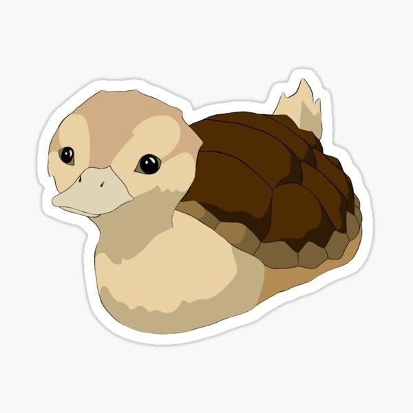 Turtle Duck (No Water) Sticker