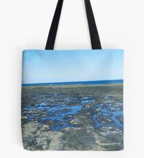 rockpools - blue Tote Bag