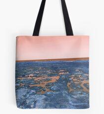 rockpools - orange Tote Bag