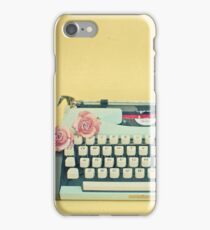 The Typewriter iPhone Case/Skin