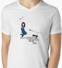 No Power in the 'Verse Men's V-Neck T-Shirt